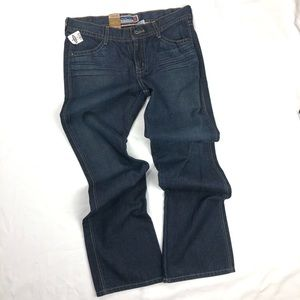 🆕 OLD NAVY Bootcut Denim Blue Jean Pants Size 8